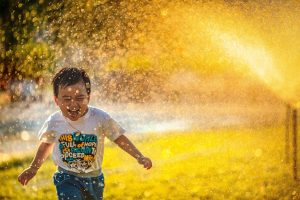 ivf tijuana baby running in park